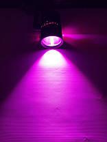 Трековий світлодіодний фітосвітильник SL-4003F 20W (full spectrum led) чорний Код.59089, фото 2