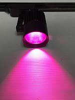 Светодиодный трековый фитосветильник SL-4003F 30W (full spectrum led) черный Код.59091