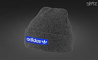 Модная шапка Adidas originals blue tag
