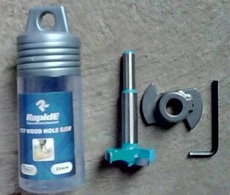 Композитные фрезы Форстнера с ограничителем 35 мм RapidE