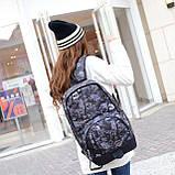 Рюкзак Sport Graffiti. Рюкзак велосипедный. Туристический рюкзак. Стильный рюкзак., фото 3