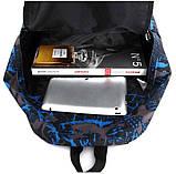 Рюкзак Sport Graffiti. Рюкзак велосипедный. Туристический рюкзак. Стильный рюкзак., фото 4