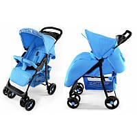 Детская Коляска  прогулочная CARRELO Fusion голубая