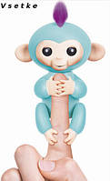 Fingerlings Baby Monkeys Zoe (WowWee) Умная детская игрушка обезьянка интерактивная, фото 1