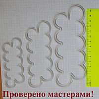Вырубки - быстрая роза (пластик) набор 3 шт (Китай), фото 1