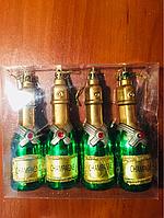 Набор игрушек Шампанское 14 см