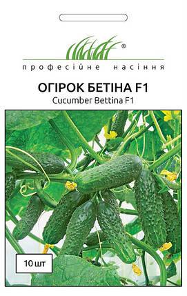 Семена огурцов Бетина F1 10 шт, Nunhems Zaden, фото 2