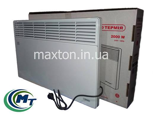 Электроконвектор Термия ЭВНА - 2,0 кВт (мбш) настенный, фото 2