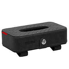 Автомобильный держатель для салфеток Promate TissueBox Black