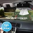 Автомобильный держатель для салфеток Promate TissueBox Black, фото 4