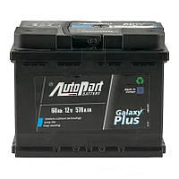 Аккумулятор Euro Autopart 60 Ah, 12V, Plus (0)