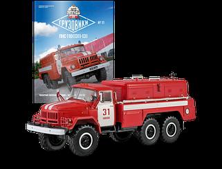 Модель Автолегенды Грузовики (DeAgostini) №11 ПНС-110  масштаб 1:43