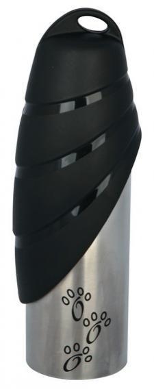 Trixiе (Трикси) BOTTLE WITH BOWL - Бутылка с миской, дорожная поилка для собак, 0.75л