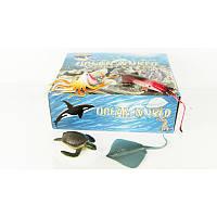 Животные морские 72 шт. в коробке