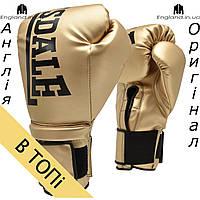 Боксерские перчатки Lonsdale золотые | Боксерські рукавички Lonsdale золоті