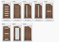 Двери межкомнатные с ПВХ покрытием серии Оптима