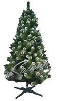 Елка  Европейская Рождественская с шишками искусственная