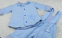 Куртка с полукомбинезон для новорожденных 68