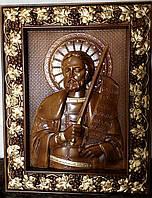 Икона деревянная Святой Аексадр Невский, фото 1