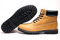 Ботинки зимние мужские Timberland, песочные, натуральная кожа, р. 42 43 44 45