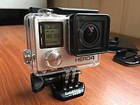 Екшн-камера  GoPro Hero 4 Black Edition + бокс + набір кріплень, фото 1