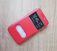 Чехол-книжка Nilkin для телефона Samsung Galaxy J1 (красный)