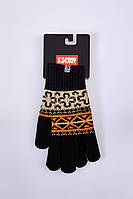 Зимние мужские перчатки с узорами Urban Planet NATIVE
