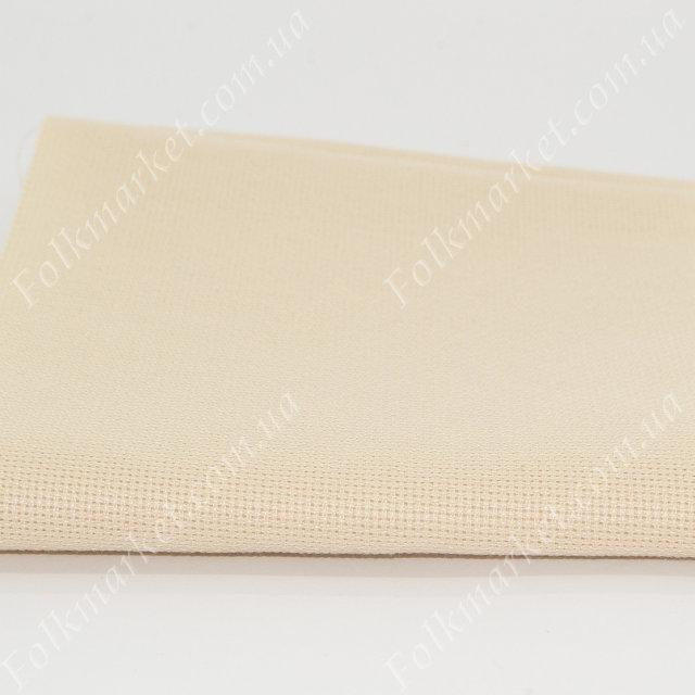 Кремовая ткань для вышивки крестом 66х66 ТВШ-38 1/41