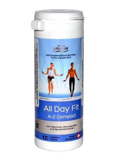 Комплекс витаминов и минералов Бодрость на весь день (Витамины А-Z) / All Day A-Z compact, 100 таб.