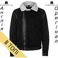 Куртка Pierre Cardin черная кожаная