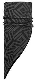 Бандана BUFF POLAR BANDANA grey graphite/black