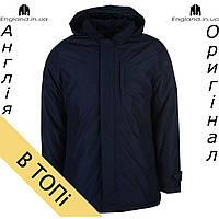 Куртка зимняя Pierre Cardin темно синяя | Куртка зимова Pierre Cardin темносиня