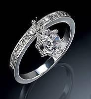 """Кольцо """"Кристальное искушение"""", Avon, Diamondesque drop ring, Эйвон, 98663"""