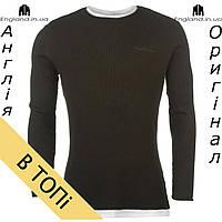 Свитер-футболка вязаный Pierre Cardin хаки   Светр-футболка в'язаний Pierre Cardin хакі