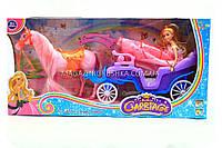 Копия Кукла с лошадкой и каретой (свет, звук) 686-700