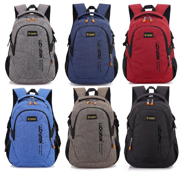 Рюкзак Luckyman black Стильные рюкзаки. Качественные портфели.