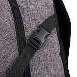 Рюкзак Luckyman black Стильные рюкзаки. Качественные портфели., фото 5