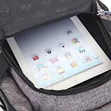 Рюкзак Luckyman black Стильные рюкзаки. Качественные портфели., фото 6