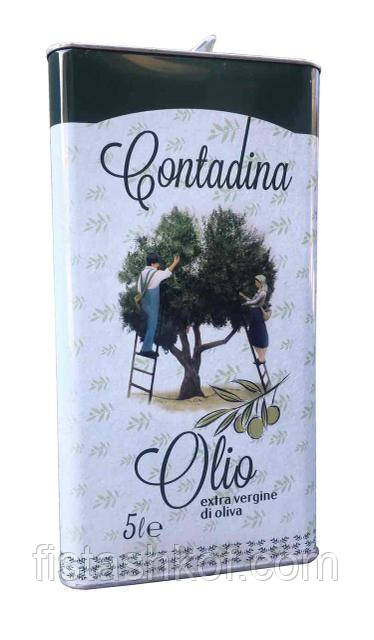 Оливковое масло Contadina Olio Extra Vergine di Oliva, 5л. Италия