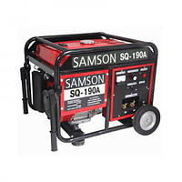 SAMSON  SQ-190A (2 кВт, сварочный ток 210А, бензин, ручной стартер)  (Бесплатная доставка)