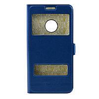 Чехол-книжка MOMAX for Meizu M5C blue