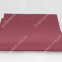 Бордовая канва для вышивки крестом 66х66 ТВШ-38 1/42