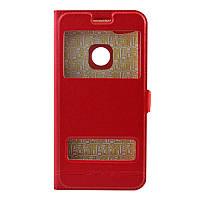 Чехол-книжка MOMAX for Samsung J330 red