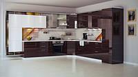 Кухня с фасадами из акрила