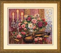 35185 Набор для вышивания крестом DIMENSIONS Романтичный букет
