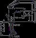 Набор скрытого монтажа для ванны (71100000+27772000+71405000+01800180) HANSGROHE LOGIS,Германия, фото 6