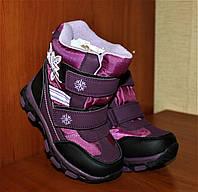 Детские термо ботинки для девочки Том.м,28-32