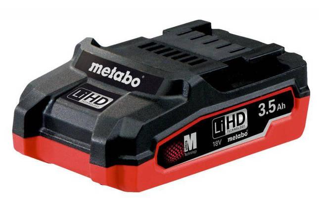 Аккумуляторная батарея Metabo LiHD 18 V, 3,5 Ач (625346000), фото 2