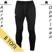 Спортивные штаны Under Armour черные | Спортивні штани Under Armour чорні