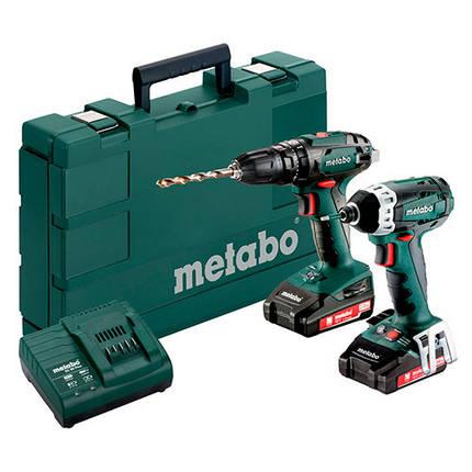 Комплект Metabo Combo Set 2.1.8 18 V (685087000), фото 2